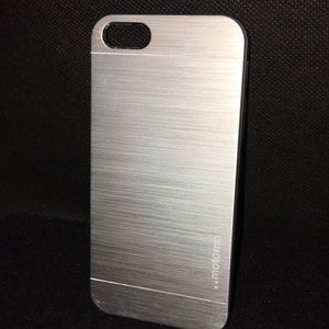 Other - iPhone 5 Brushed Metal Cell Phone Case